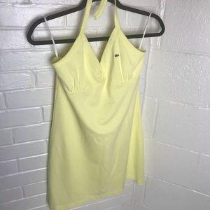 {Lacoste} Halter Sports Dress